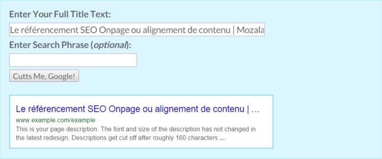 moz title pixels testing tool