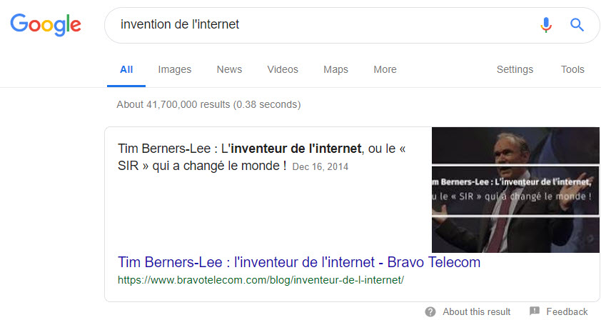 invention-internet-featured-snippet