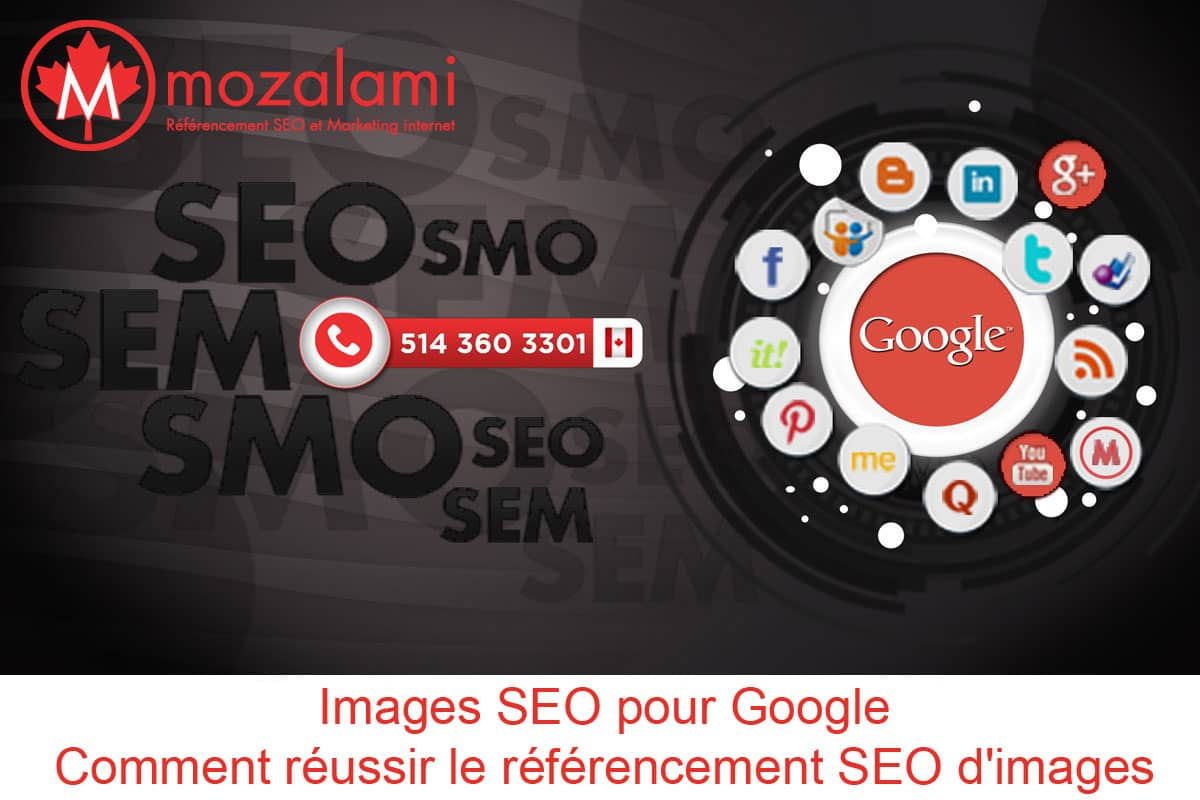 comment réussir referencement seo images