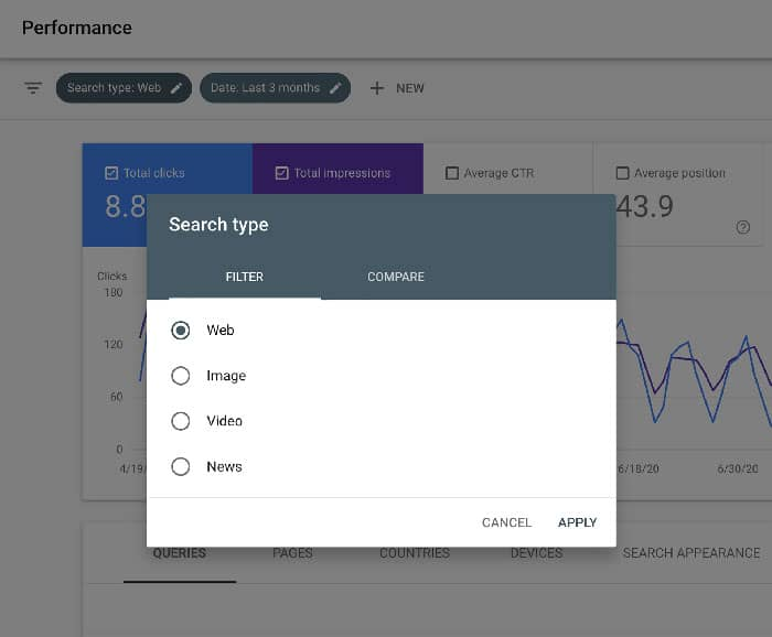 google-search-console-image-filter
